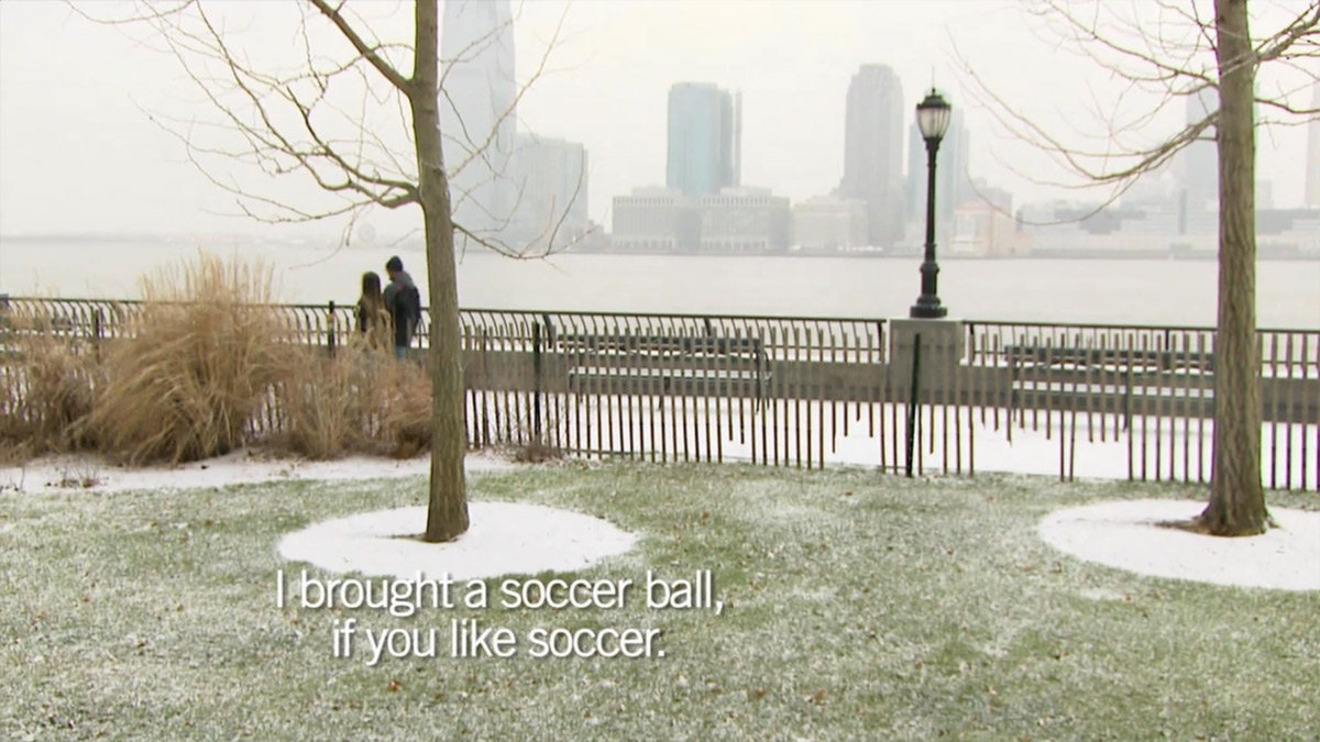 I brought a soccer ball, if you like soccer.