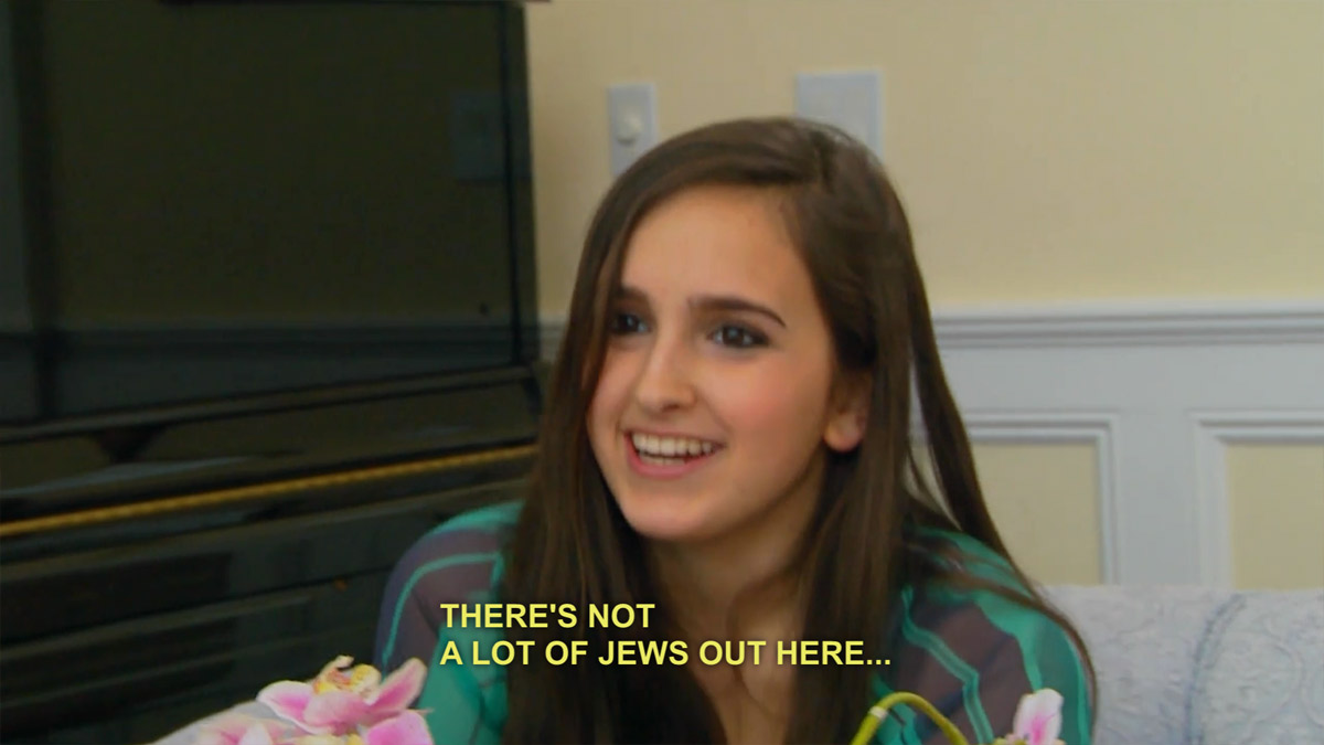 There's not a lot of Jews out here...