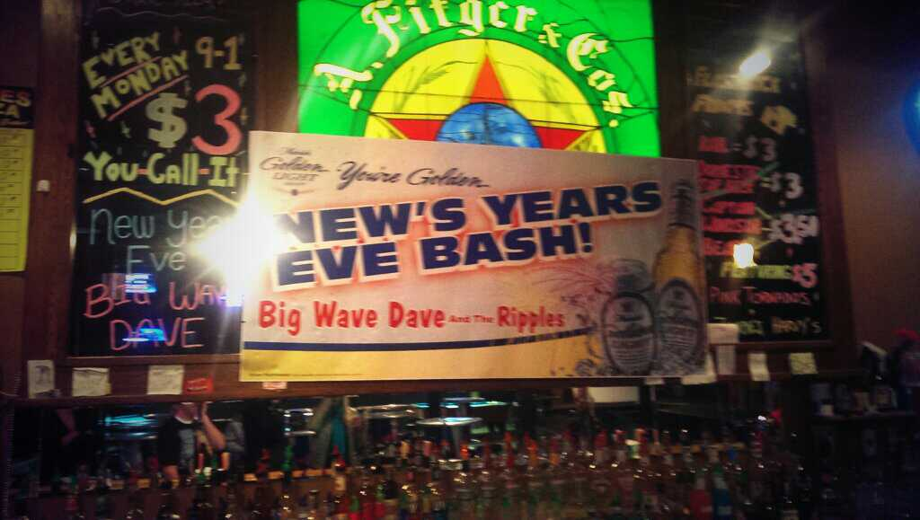 New's Years Eve Bash.