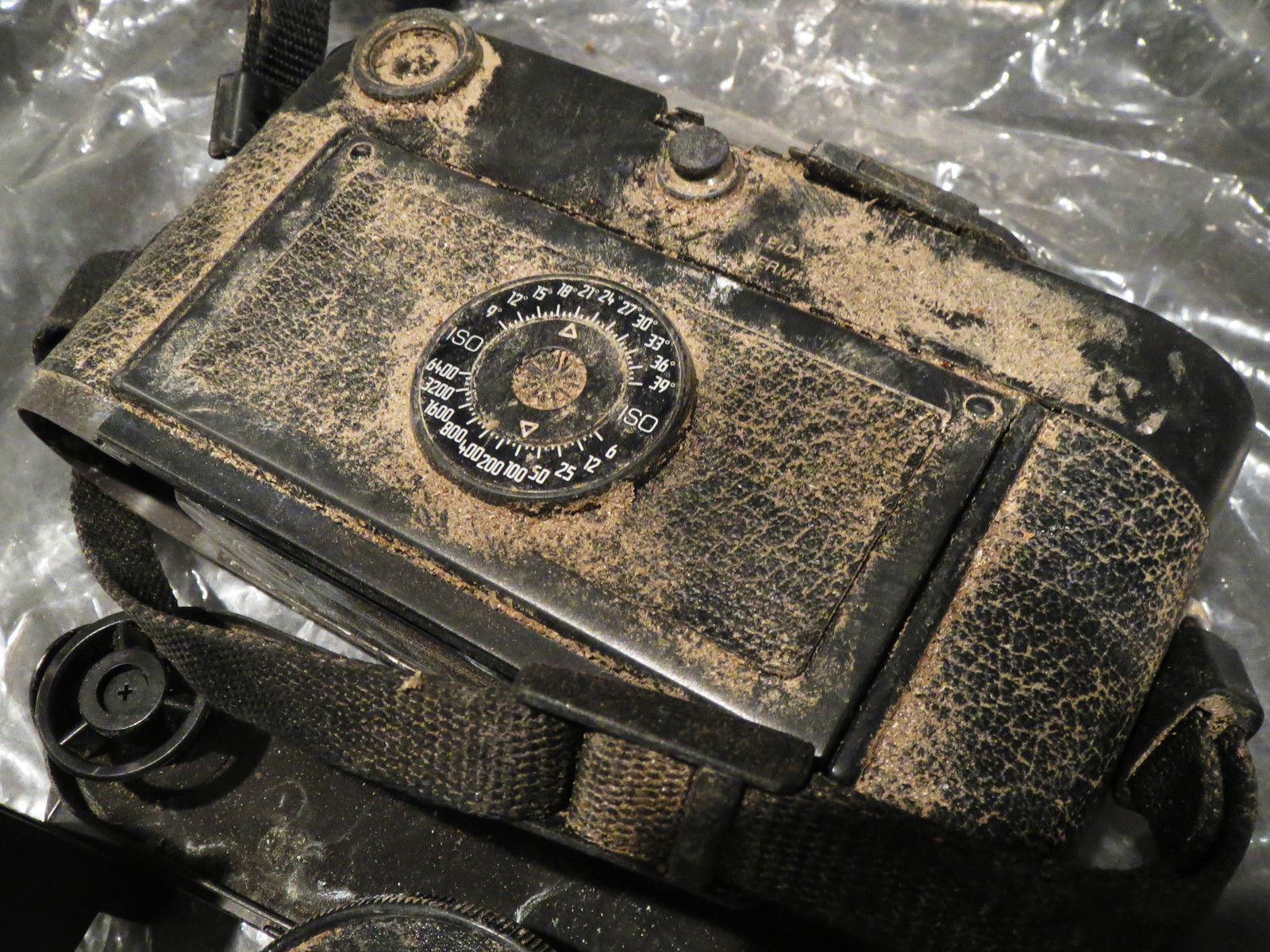 Leica M6 Black Camera Body – Hapless Victim of Hurricane Sandy