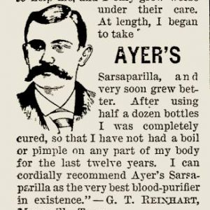 Ayer's Sarsaparilla – 1895